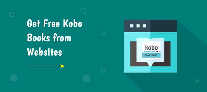 Get free Kobo books from websites