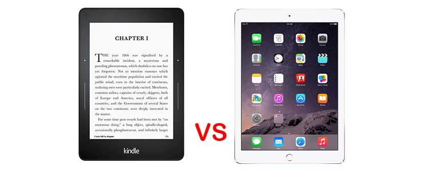 Kindle vs. iPad