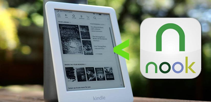 read nook book on Kindle