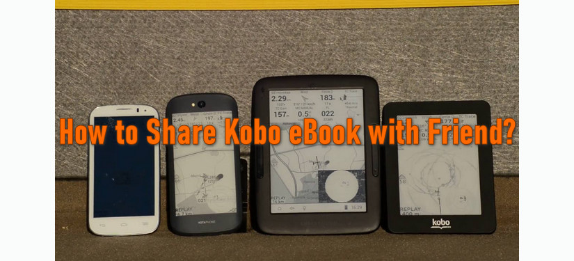 share kobo book