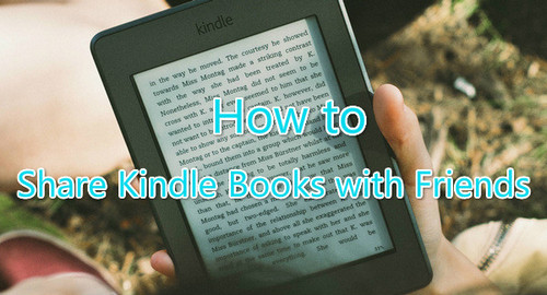 Share Kindle Books with Friends
