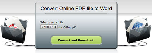 Free Online PDF to Word Converter