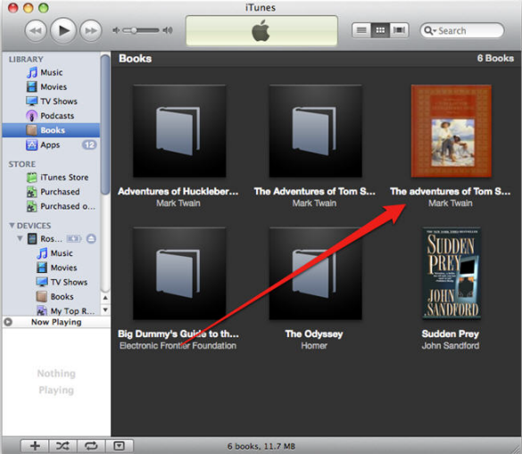 Add PDF to iBook