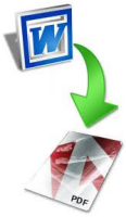 Convert from Word to PDF
